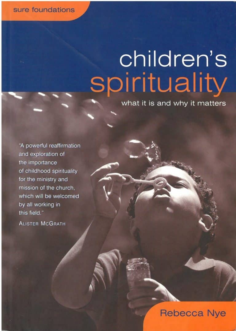The cover of the book, which depicts a child blowing bubbles.